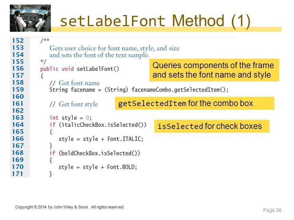 setLabelFont Method (1)