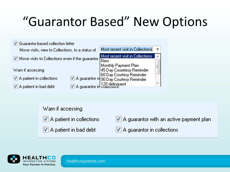 Guarantor Based New Options