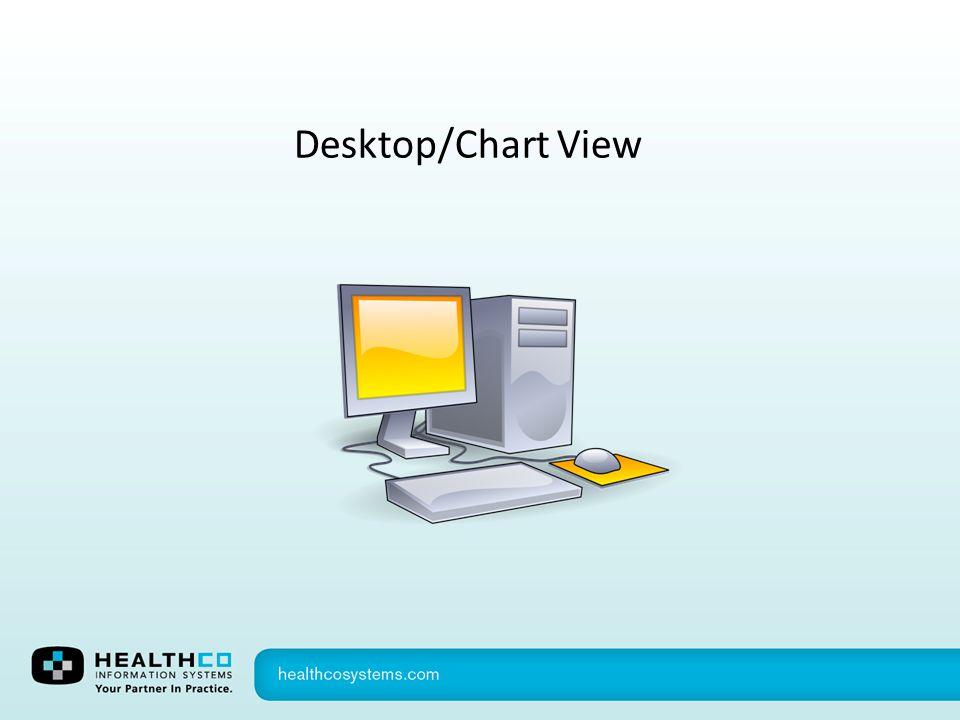 Desktop/Chart View