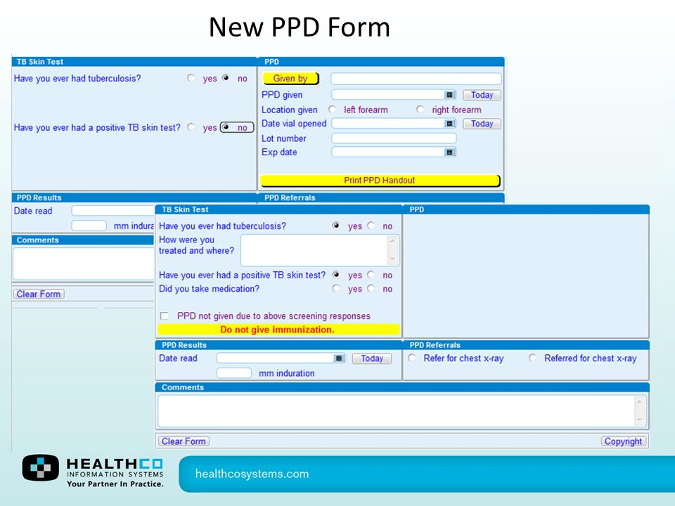 New PPD Form