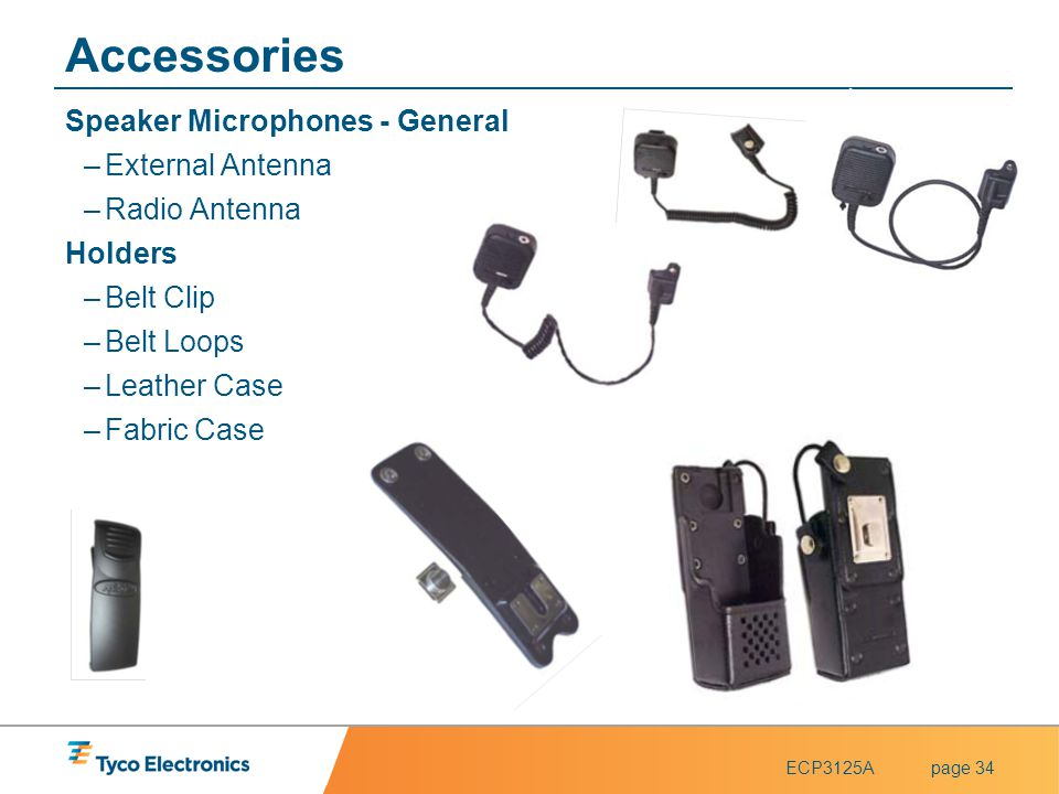 Accessories Speaker Microphones - General External Antenna