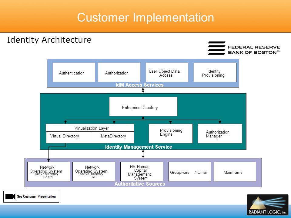Customer Implementation