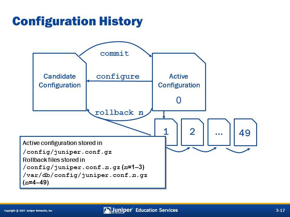 Configuration History