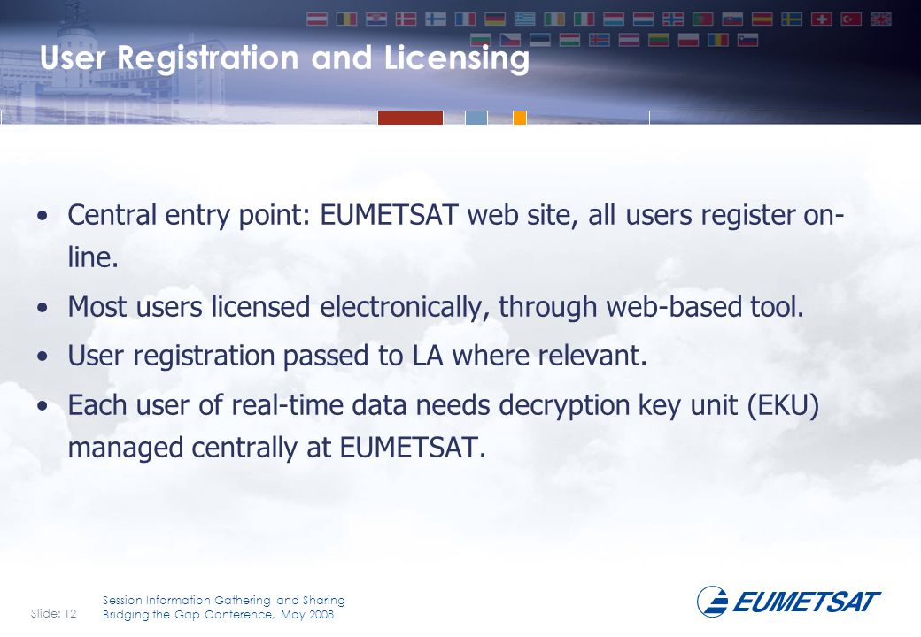 User Registration and Licensing