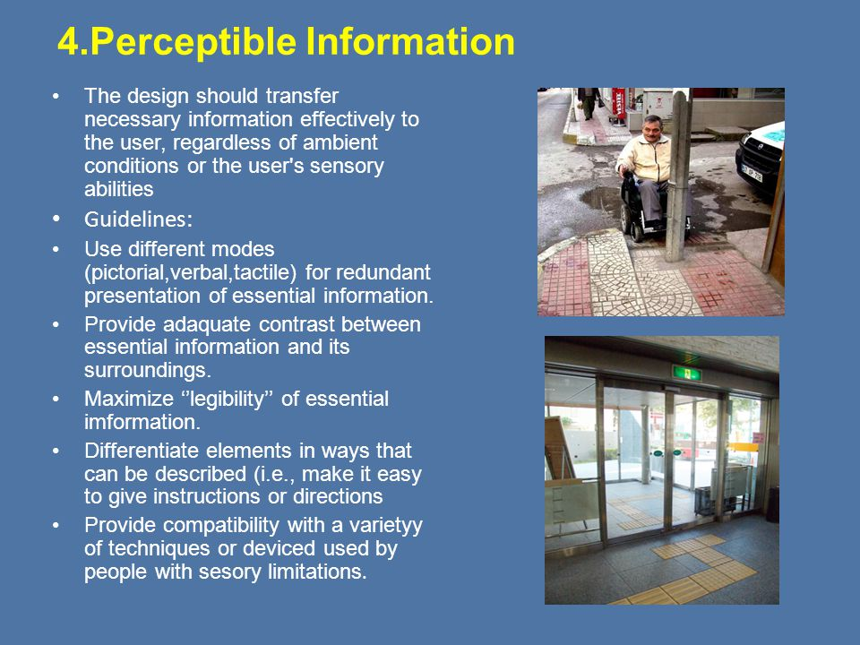 4.Perceptible Information