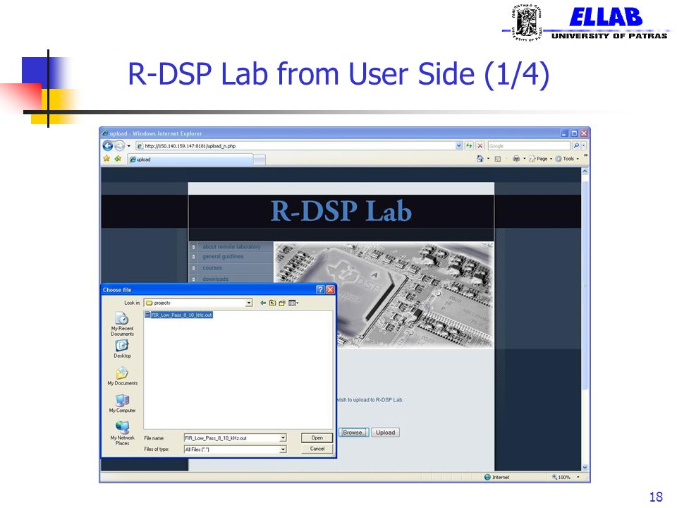 R-DSP Lab from User Side (1/4)