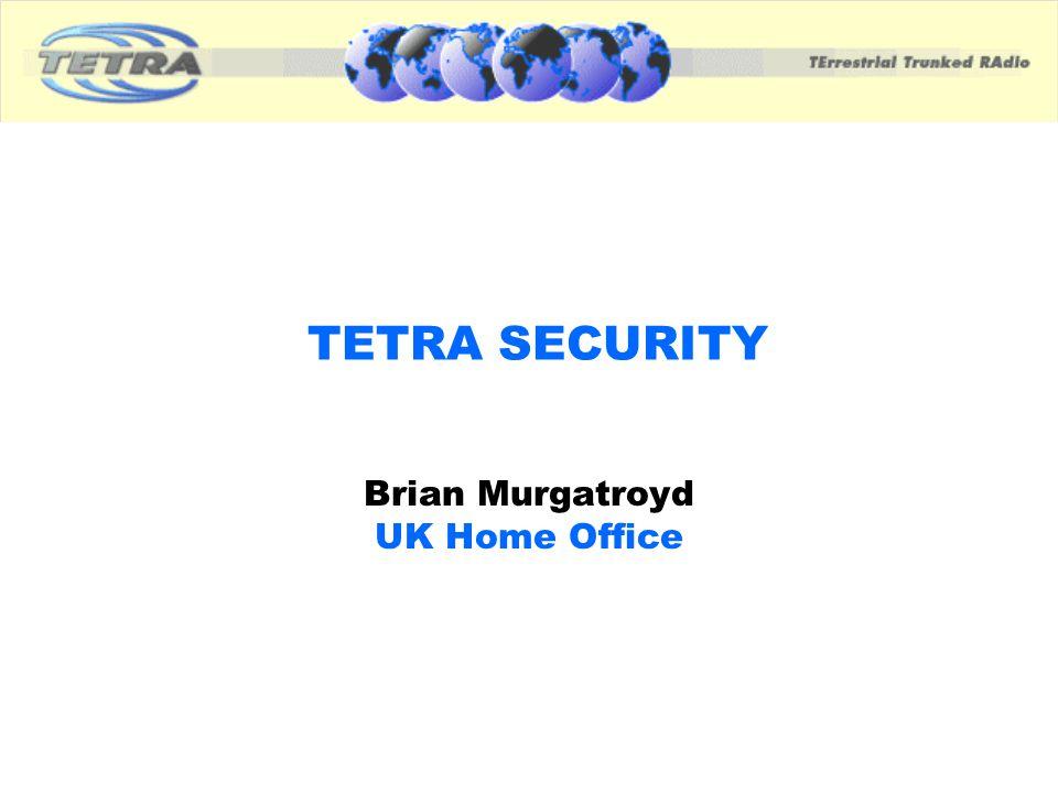 Brian Murgatroyd UK Home Office