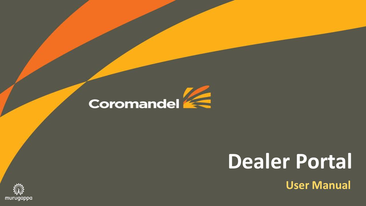 Dealer Portal User Manual