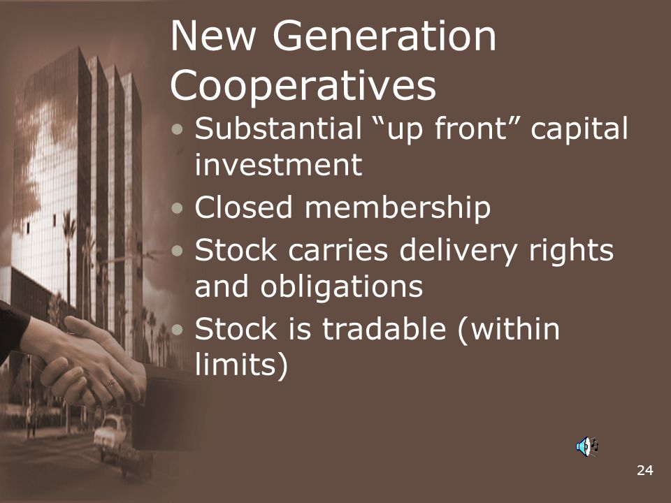 New Generation Cooperatives