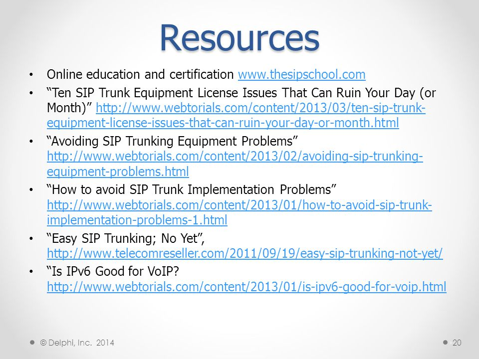 Resources Online education and certification www.thesipschool.com