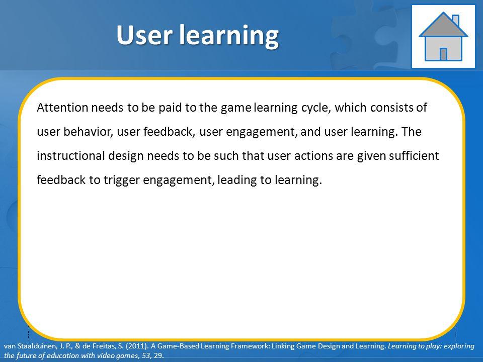 User learning