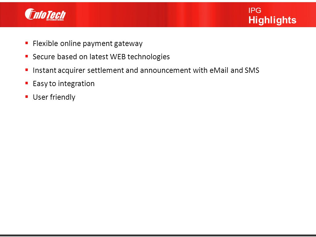 Flexible online payment gateway