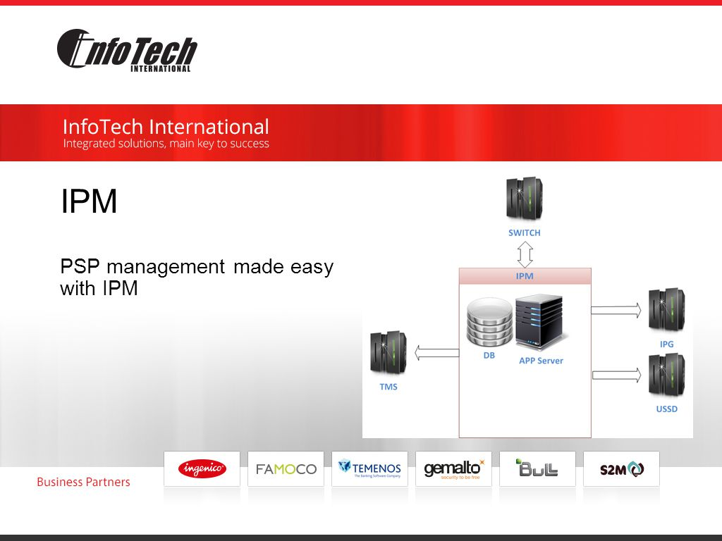 IPM PSP management made easy with IPM