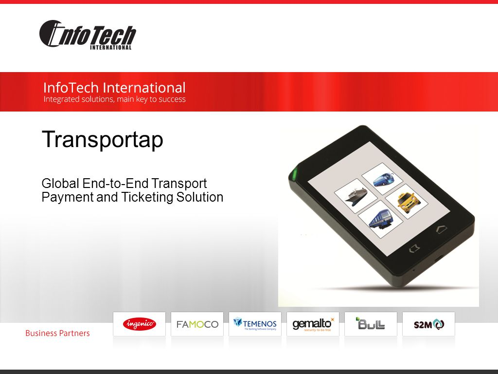 Transportap Global End-to-End Transport Payment and Ticketing Solution