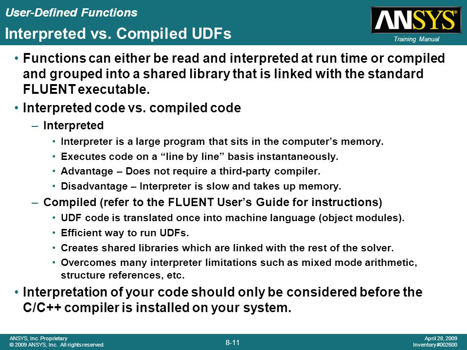 Interpreted vs. Compiled UDFs