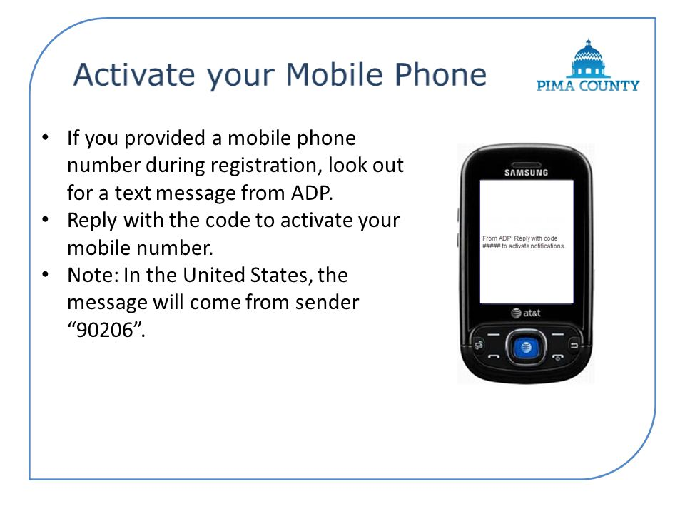 Activate your Mobile Phone