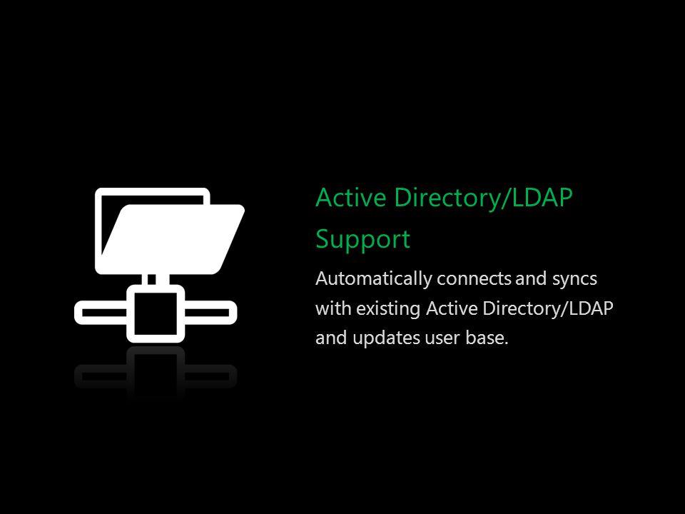 Active Directory/LDAP Support