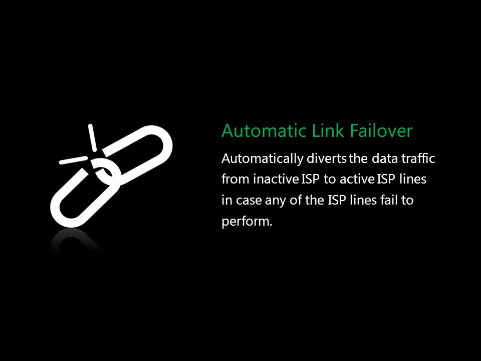 Automatic Link Failover
