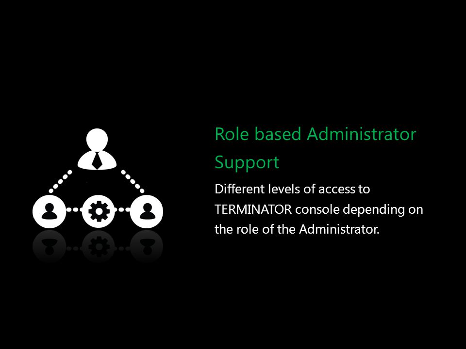 Role based Administrator Support