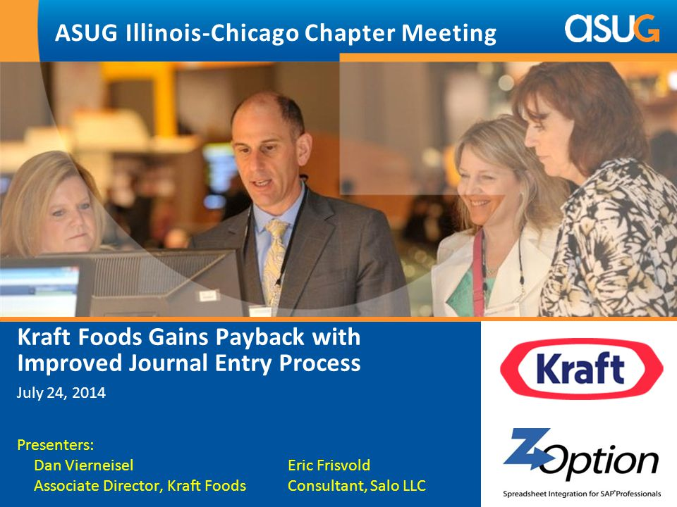 ASUG Illinois-Chicago Chapter Meeting