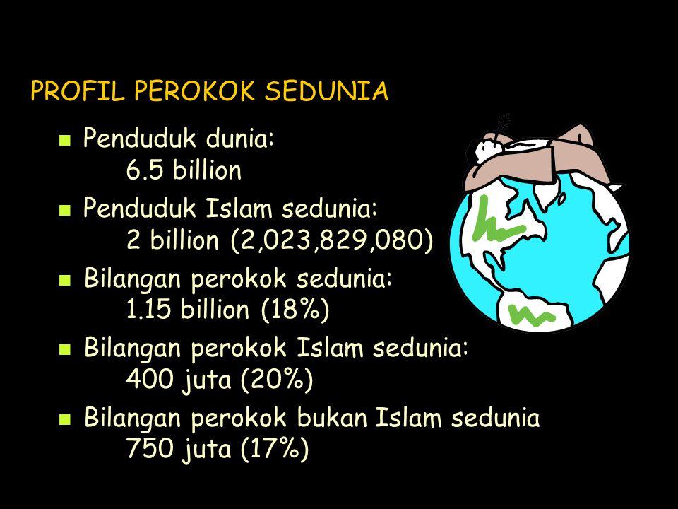 PROFIL PEROKOK SEDUNIA