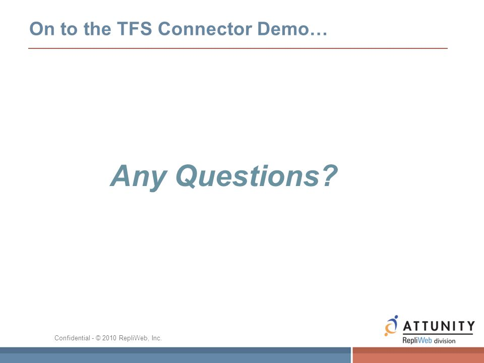 On to the TFS Connector Demo…