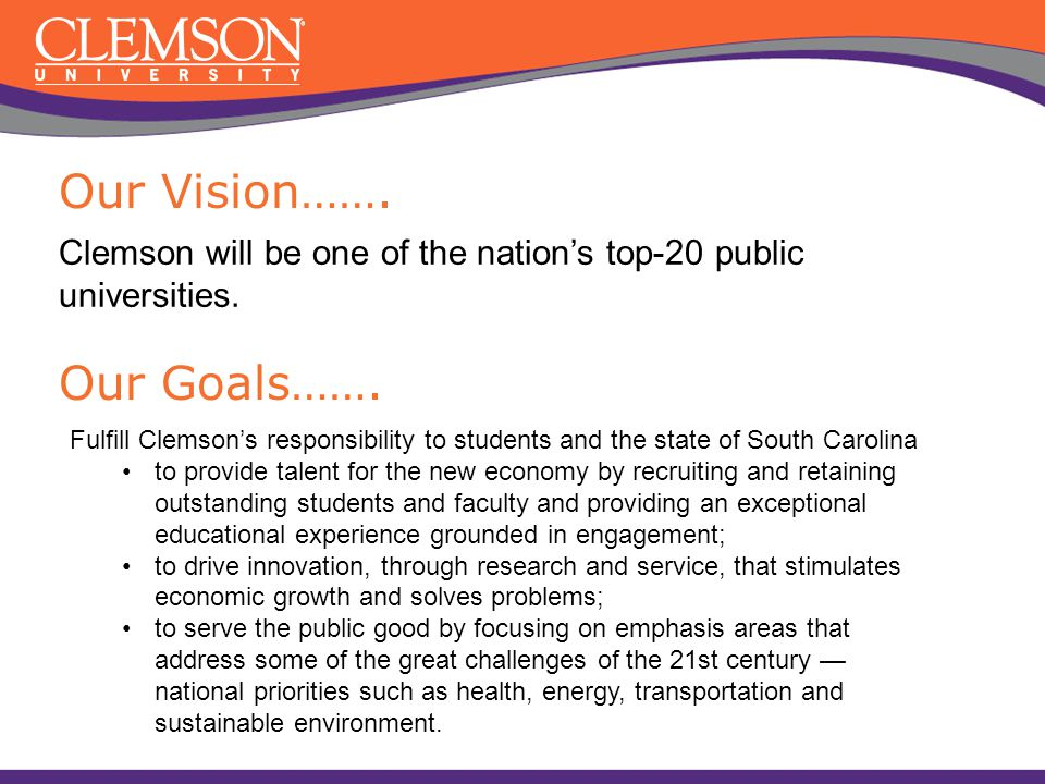 Our Vision……. Our Goals…….