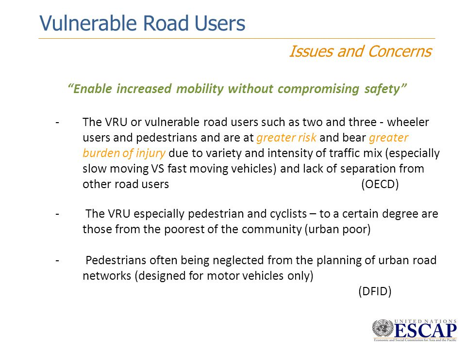 Enable increased mobility without compromising safety