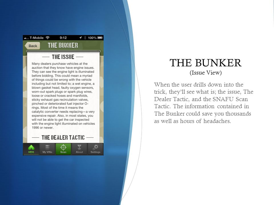 THE BUNKER (Issue View)