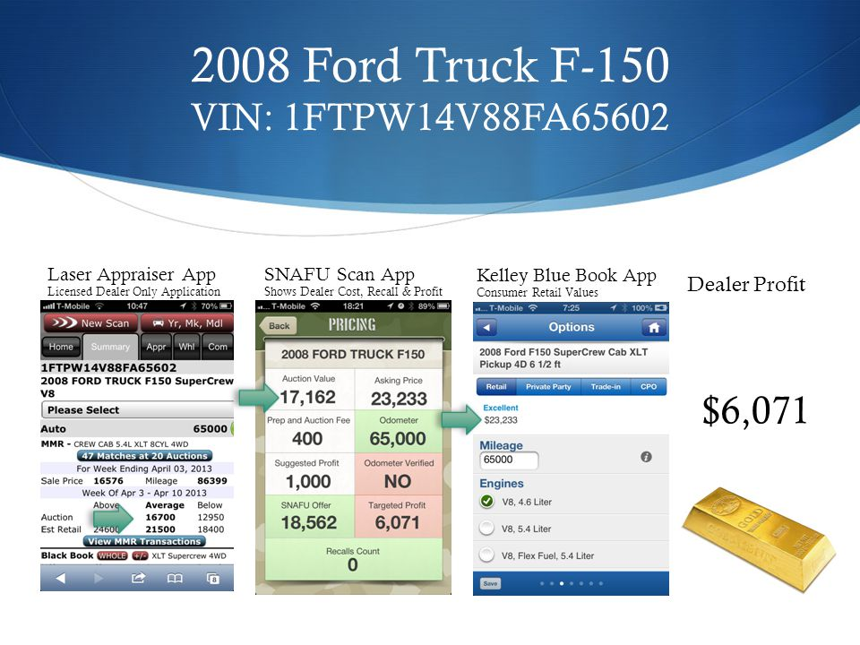 2008 Ford Truck F-150 VIN: 1FTPW14V88FA65602