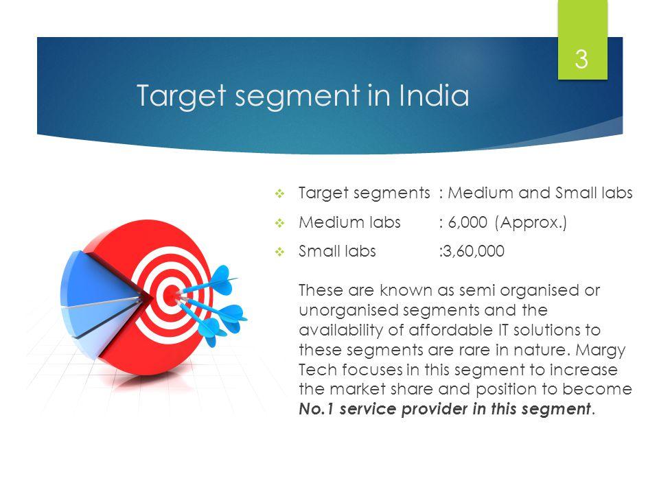 Target segment in India