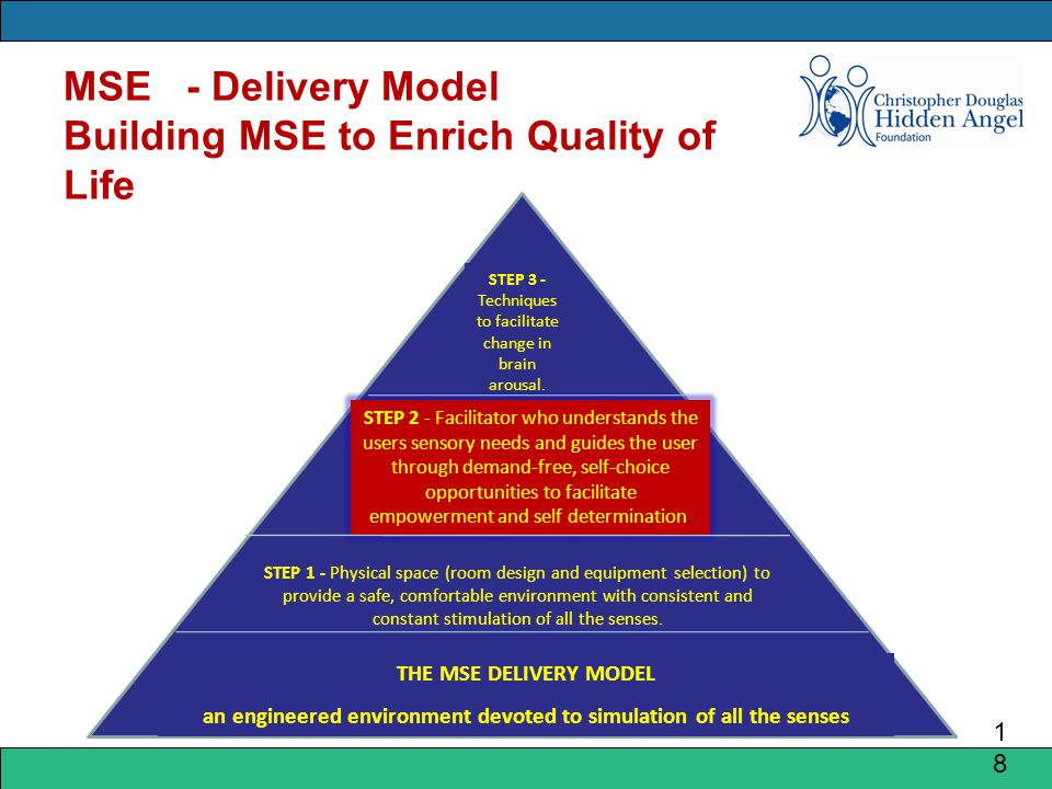 MSE - Delivery Model Building MSE to Enrich Quality of Life