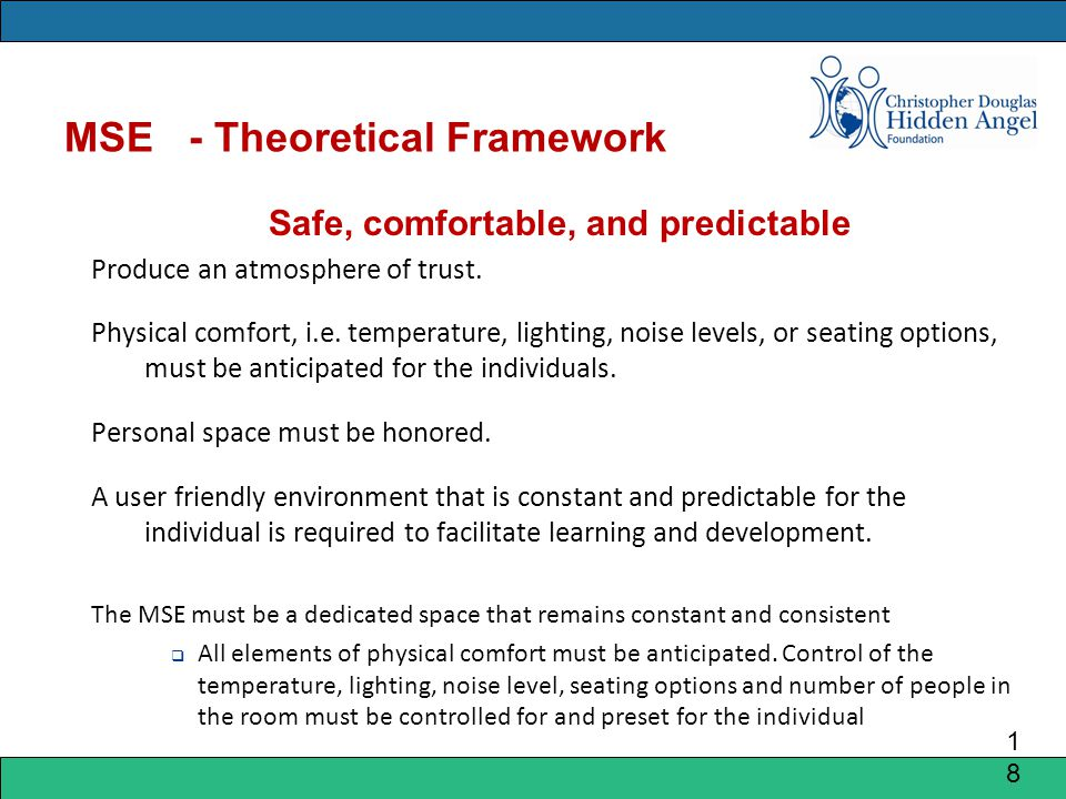 MSE - Theoretical Framework