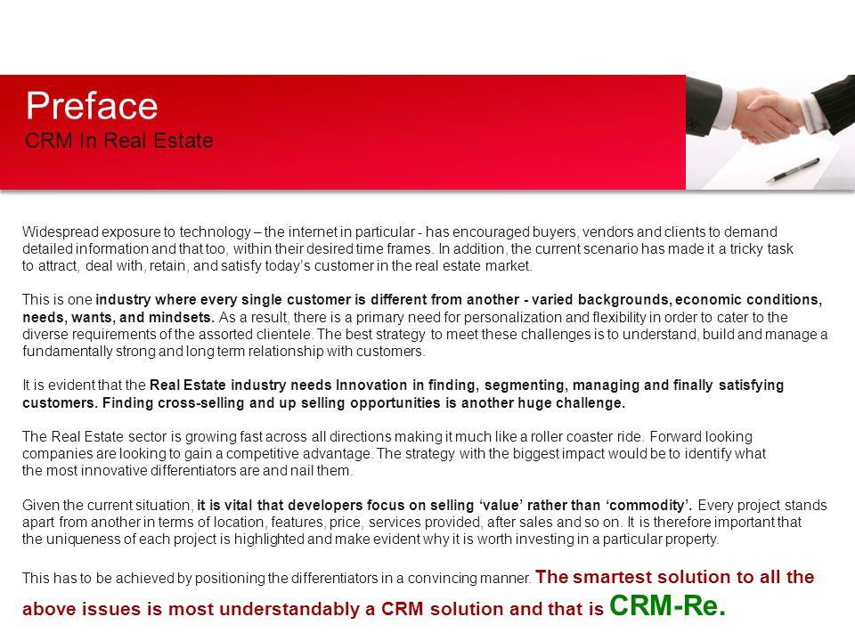 Preface CRM In Real Estate