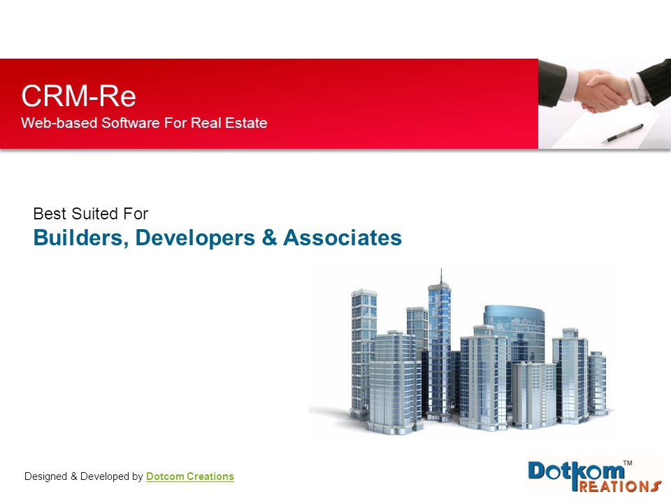 CRM-Re Web-based Software For Real Estate
