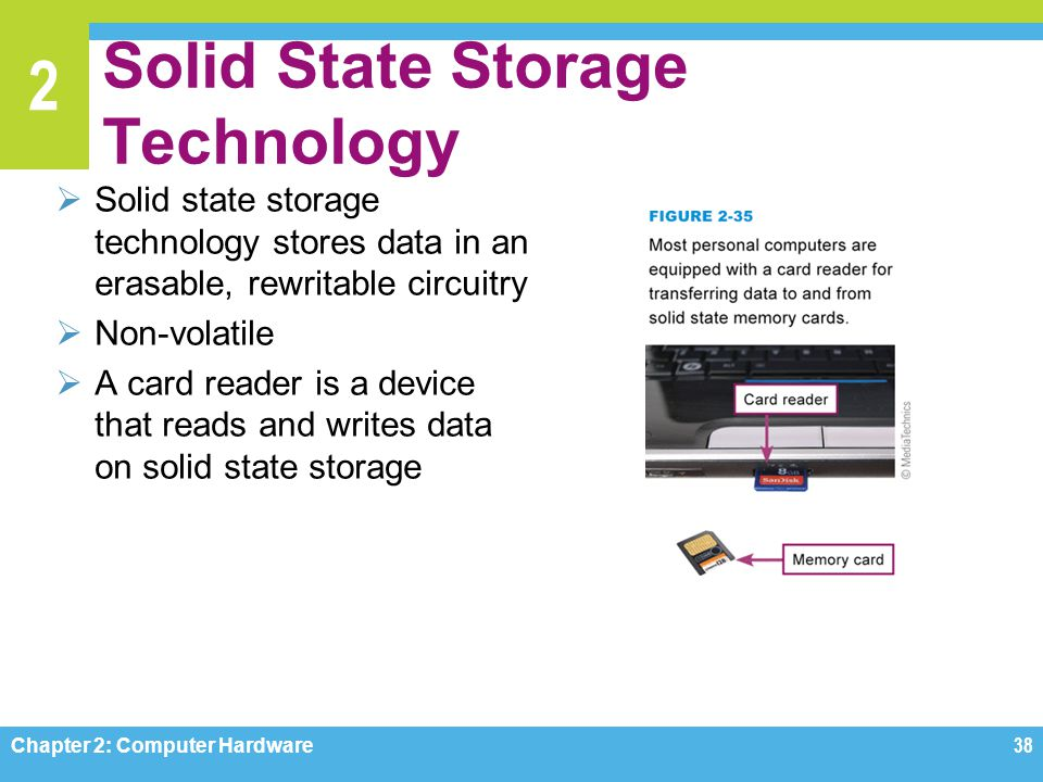 Solid State Storage Technology