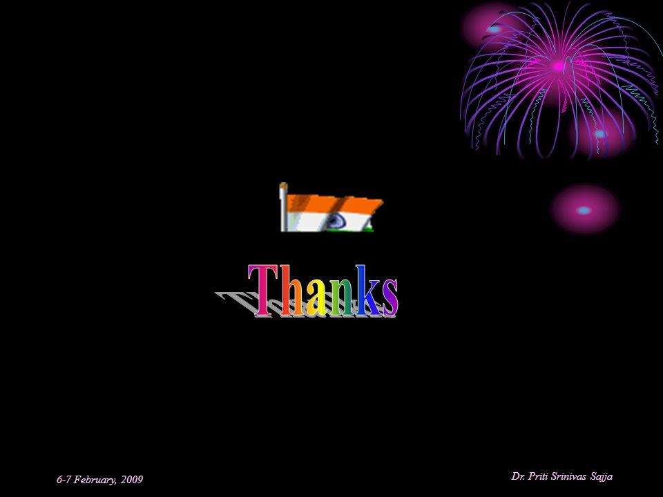 Thanks 6-7 February, 2009
