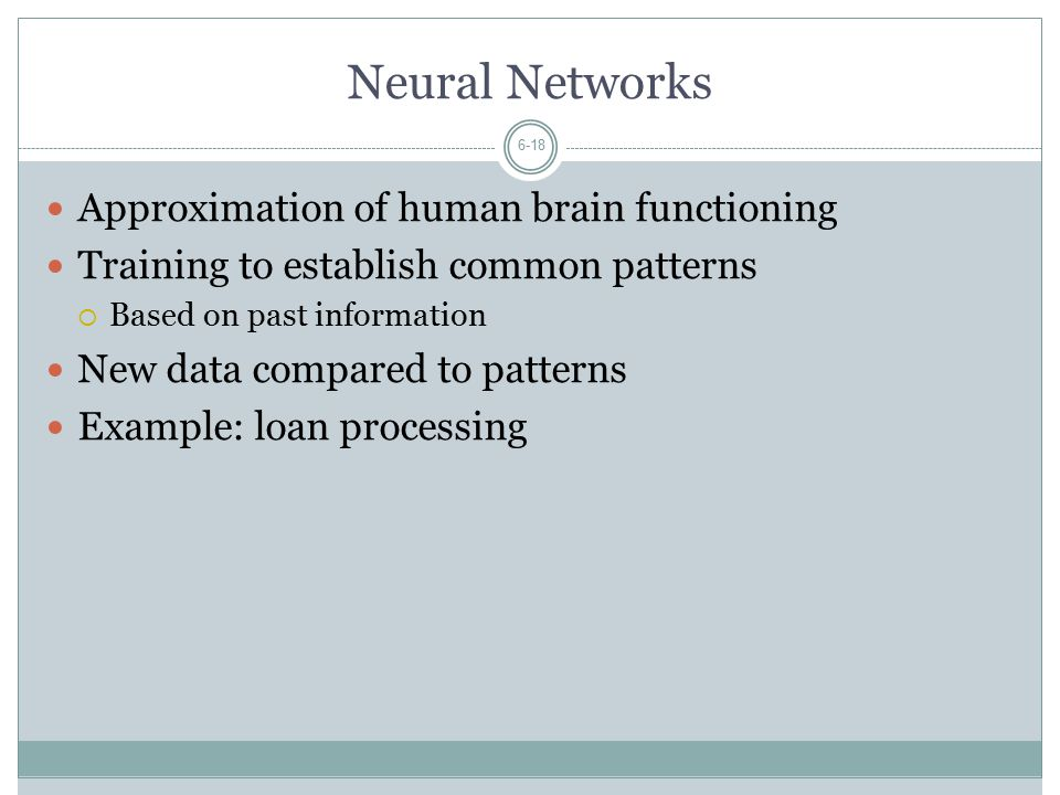 Neural Networks Approximation of human brain functioning
