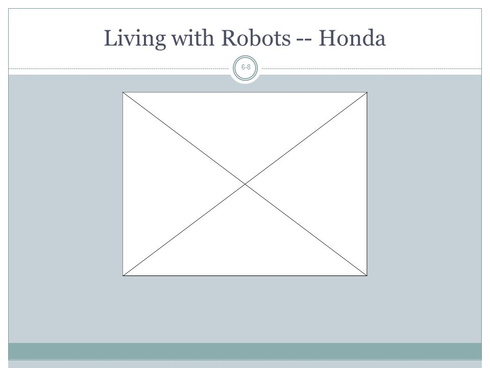 Living with Robots -- Honda