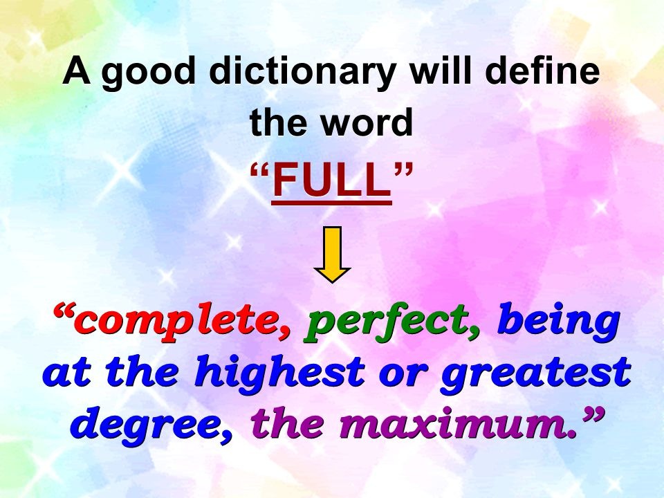 A good dictionary will define the word