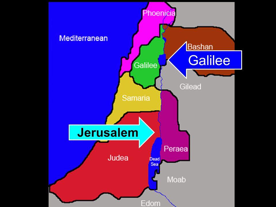Galilee Jerusalem