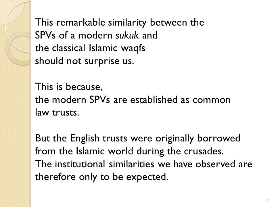 This remarkable similarity between the