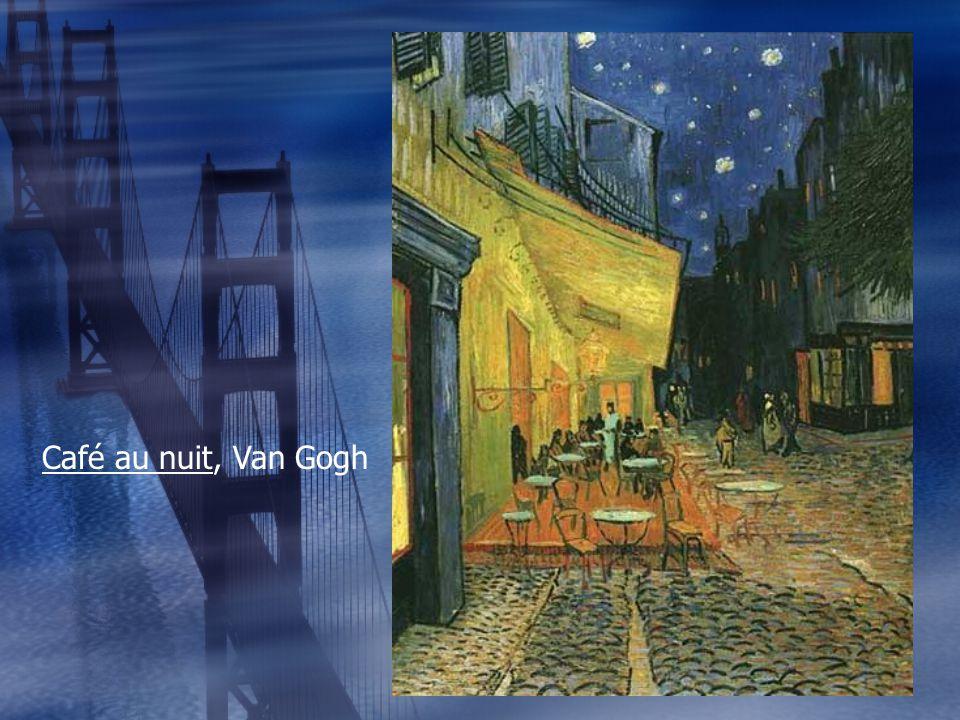 Café au nuit, Van Gogh