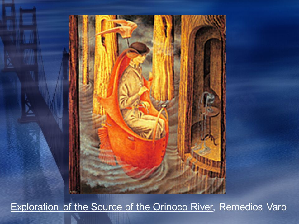 Exploration of the Source of the Orinoco River, Remedios Varo