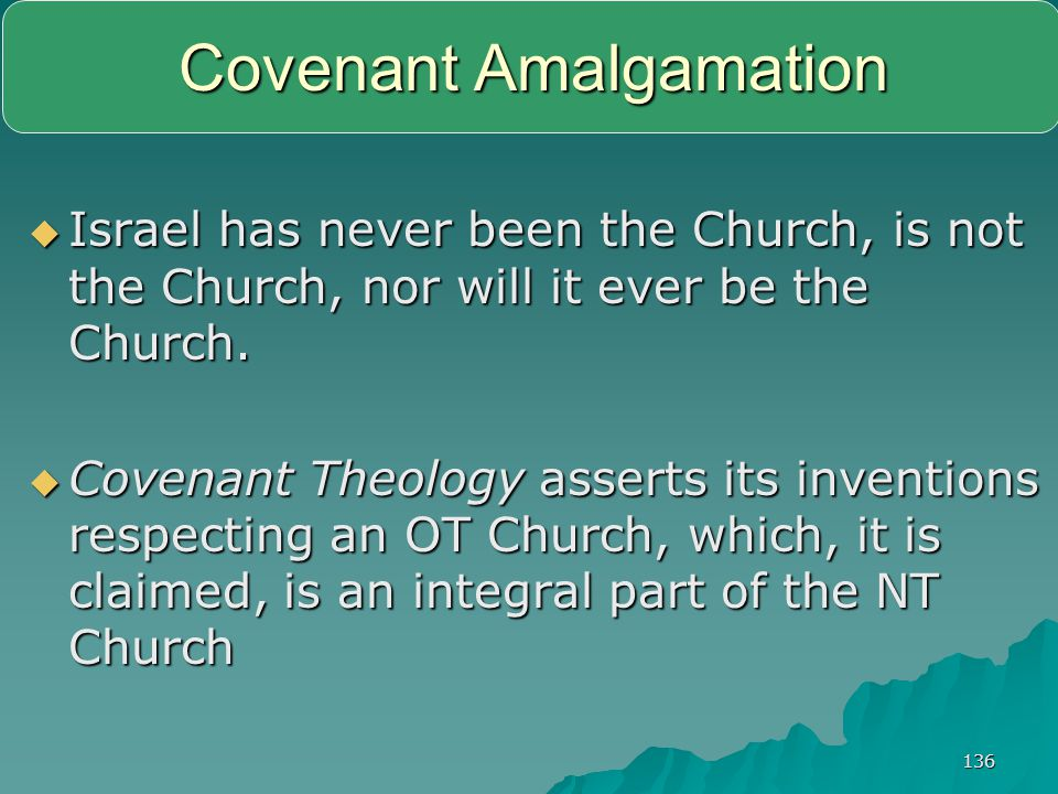 Covenant Amalgamation