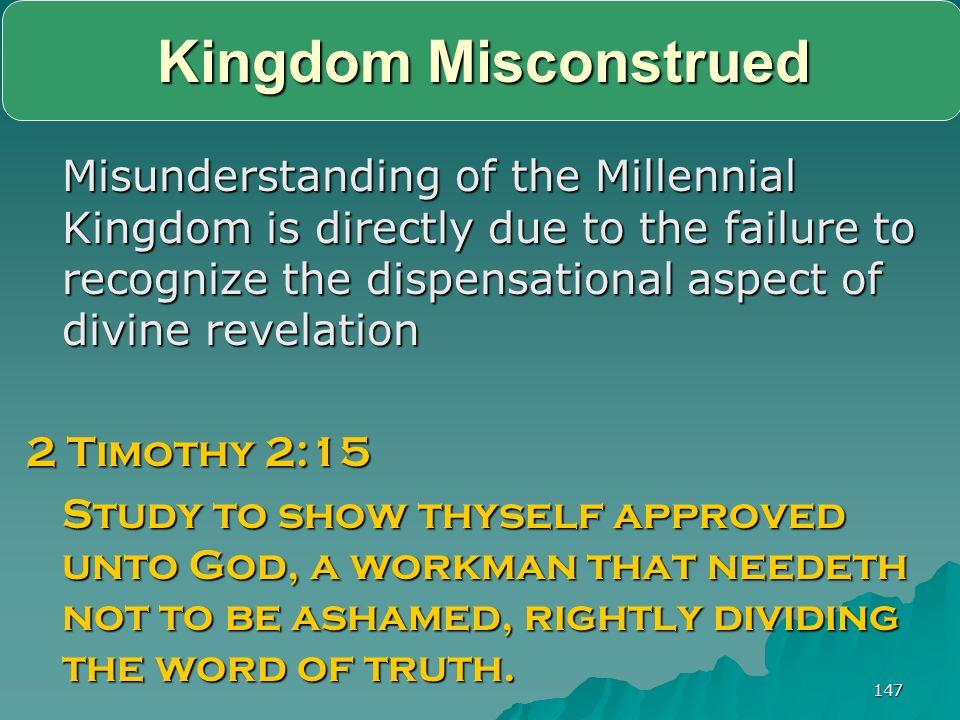 Kingdom Misconstrued