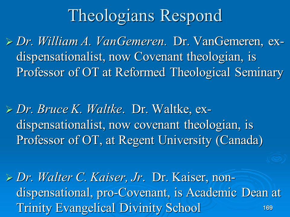 Theologians Respond