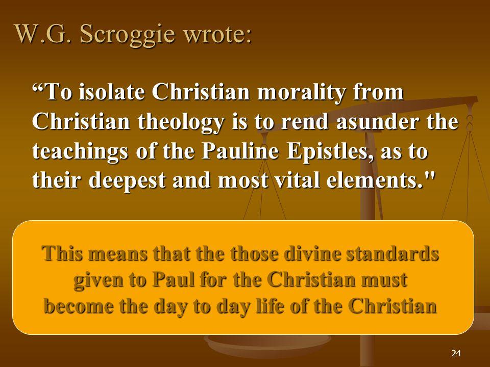 W.G. Scroggie wrote: