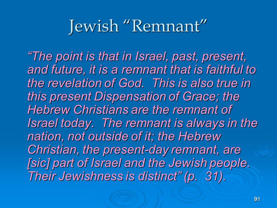 Jewish Remnant