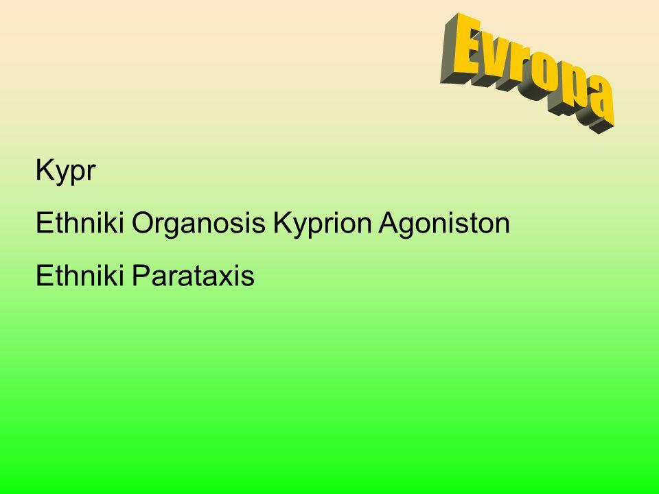 Evropa Kypr Ethniki Organosis Kyprion Agoniston Ethniki Parataxis